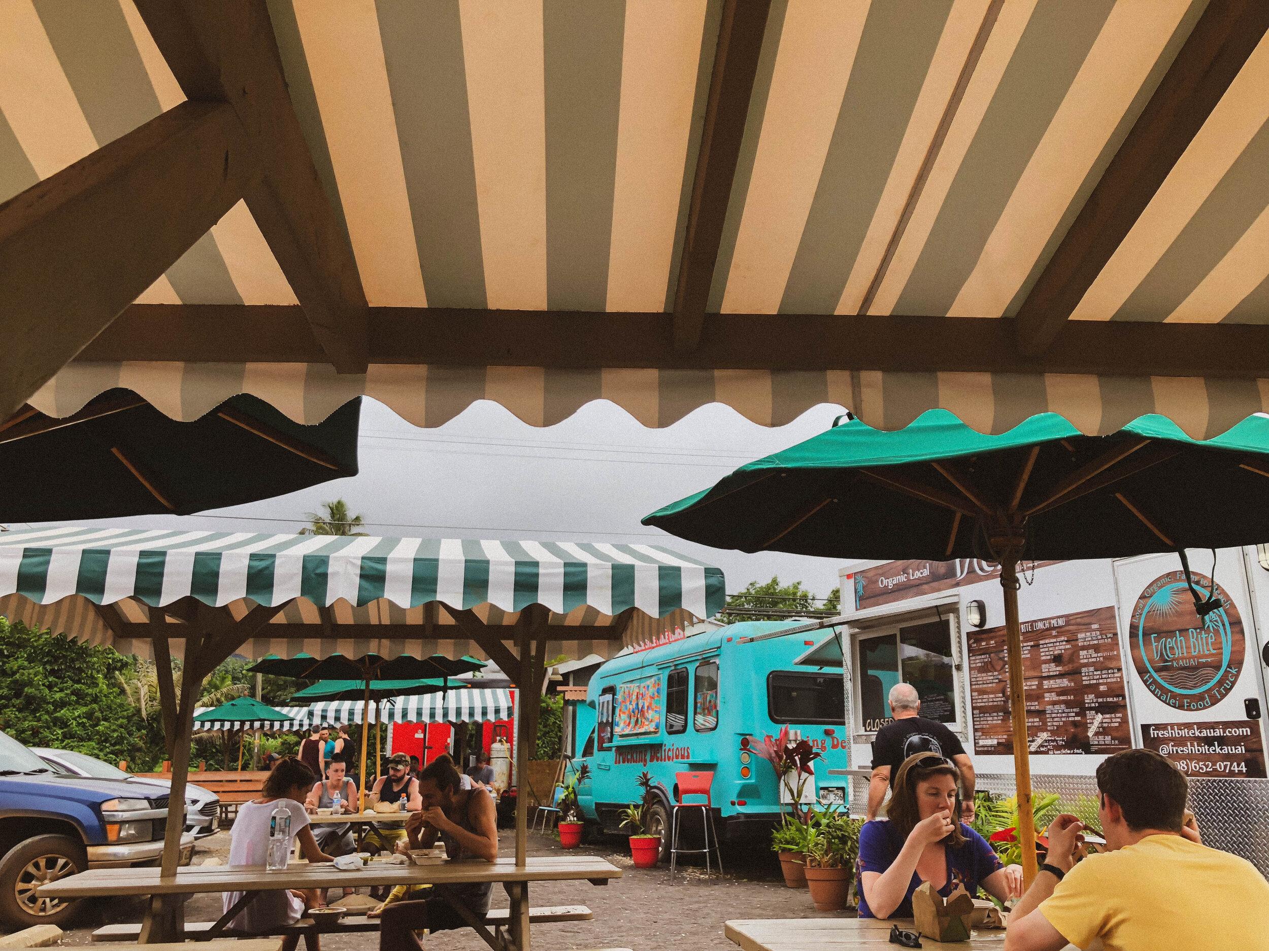 Food Trucks in Hanalei