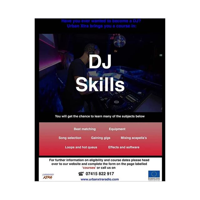(THIS WORKSHOP IS FREE TODAY located at E13 8EB)  Just a quick reminder we are proud to present the DJ workshop. TODAY *Saturday 14th September from 3:00pm till 5:00pm at UrbanXtra radio.* This session is aimed at presenters and people whom love music and would like to learn or enhance there DJing skills and understanding the equipment in the studio.  @selfmadedjz and @Pintyofficial will be conducting the session. Anyone that is interested in this please reply to the message.  Take advantage of this event and make yourselves available 😁 Thank you for reading this message and I really hope to see you then. Thank you Urban Xtra radio 🎧🎙️🎵 please forward/share  #support #radio #music #hiphop #dj #podcast #rap #tv #media #love #newmusic #radioshow #artist #live #youtube #musica #spotify #producer #djs #instagram #fm #repost #fashion #entertainment #follow #art #soundcloud #radiostation #rnb #singer