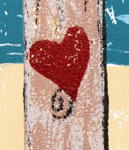 "Detail from ""Post of Love"""