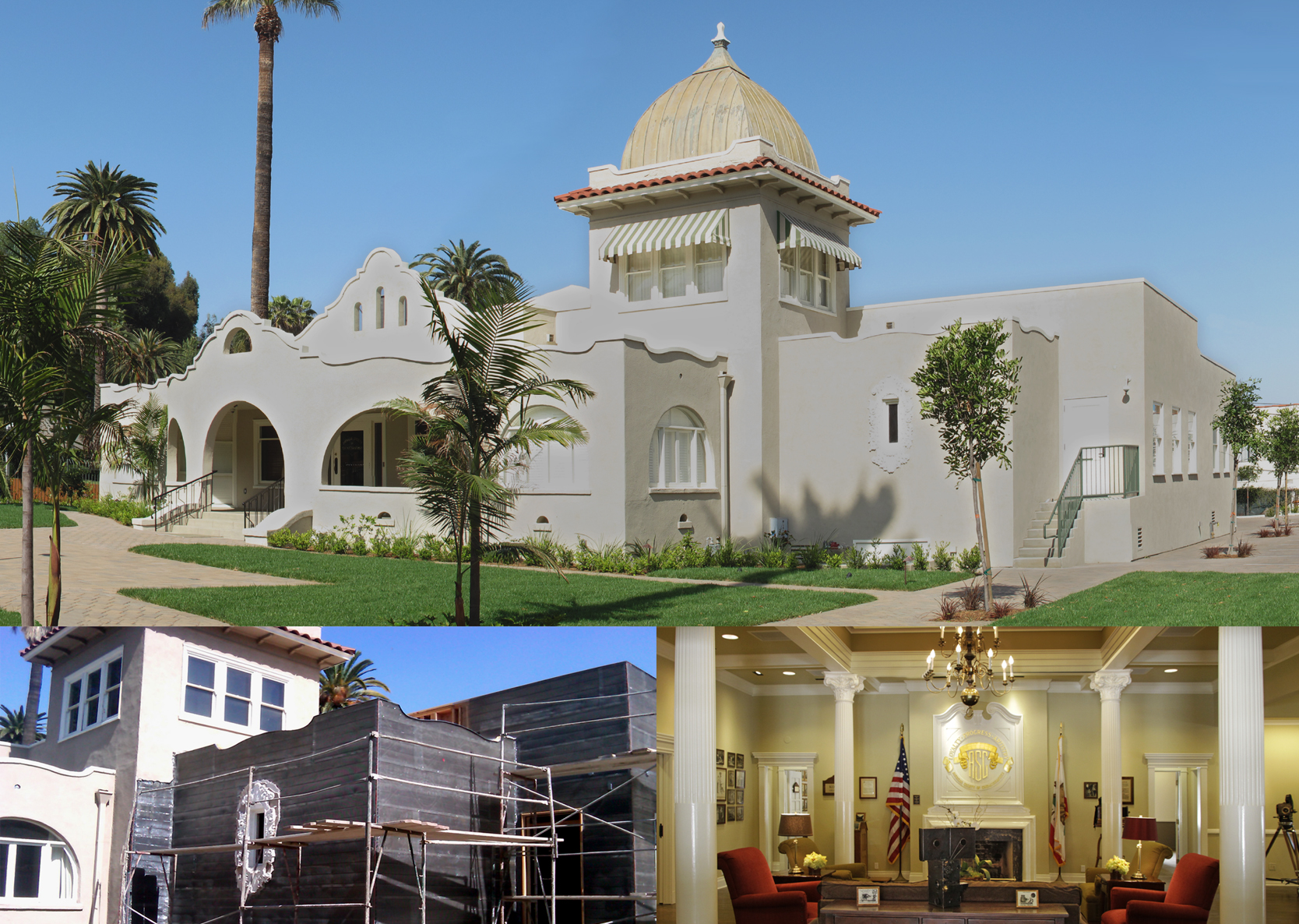 ASC Clubhouse -Expansion and Renovation of 1903 Historical Building for American Society of Cinematographers.