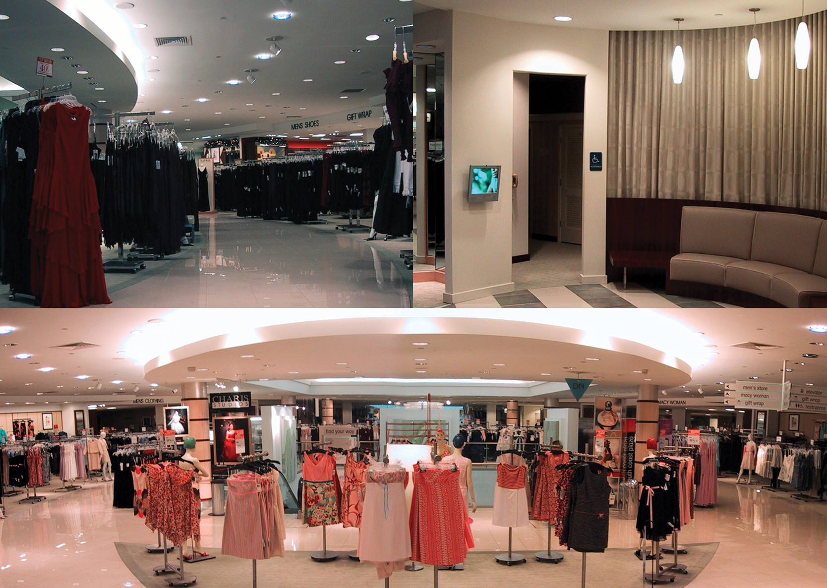 Macy's South Coast Plaza - Complete tenant improvement of all departments located on the second and third levels of the Main Store.