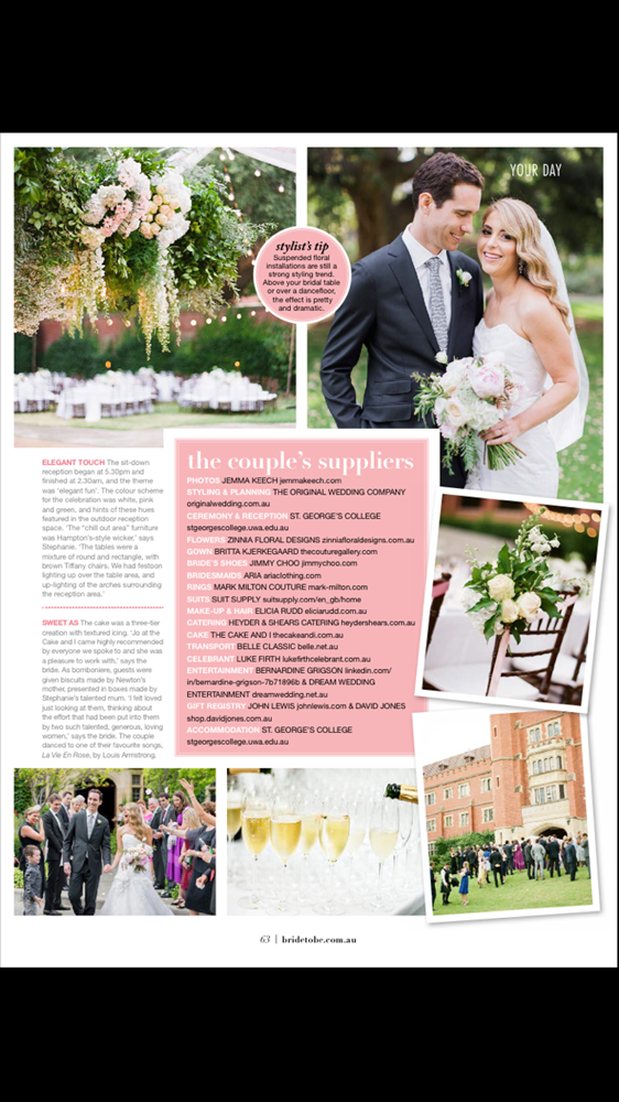 Bride to Be Magazine - Australia - 4/4
