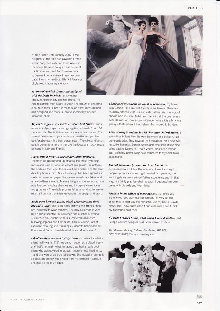 Notting Hill & Holland Park Magazine Feb 2016 - Designer Profile - 3/4