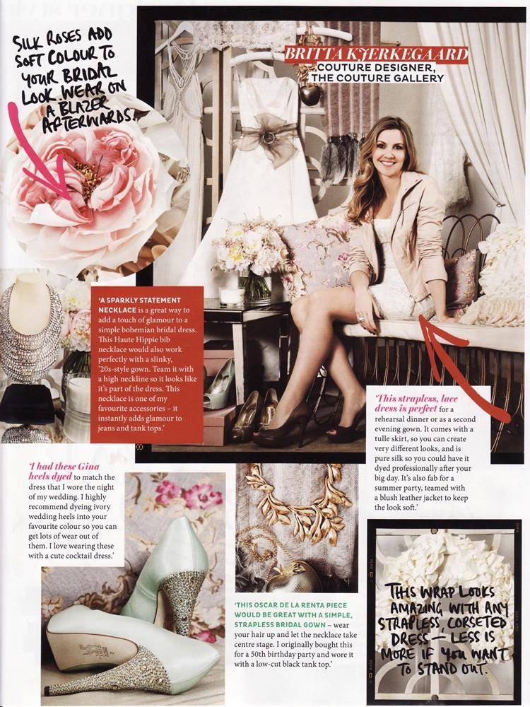 Brides Magazine March/April 2013 - Designer Style