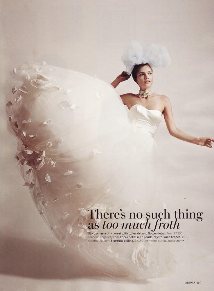 Brides September/October 2012 - Juliette Gown