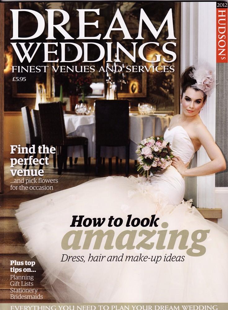 Dream Weddings April 2012 - Cover