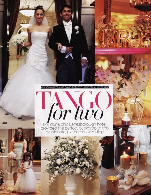 Brides Magazine Jul/Aug 2011 - Real Weddings - 1/2