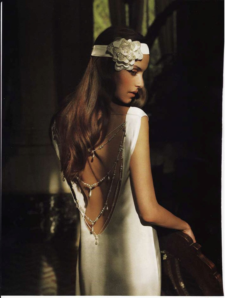 Brides Magazine March/April 2010 - Pearl Dress