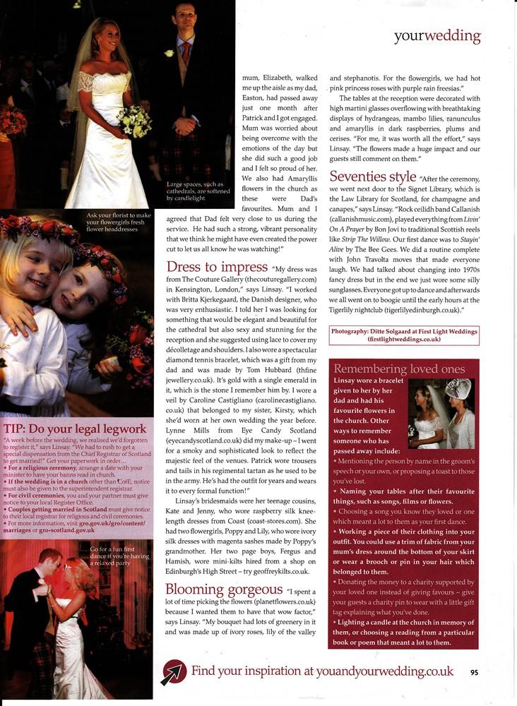 You & Your Wedding Sep/Oct 2009 - Real Weddings - 2/2