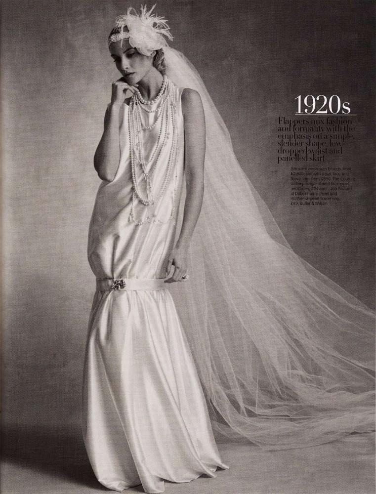 Brides Magazine March/April 2009 - Charleston Dress
