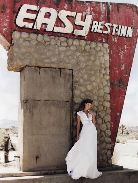 Brides Magazine Nov/Dec 2008 - Bryony Shirt Dress