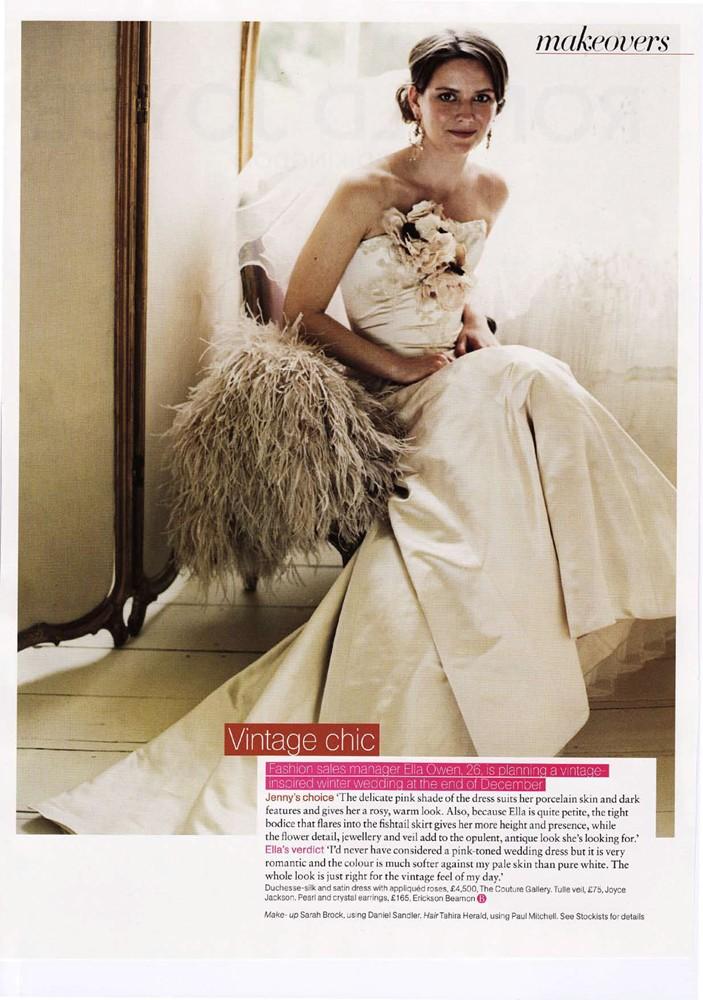 Brides Magazine Sep/Oct 2008 - Vivienne Dress