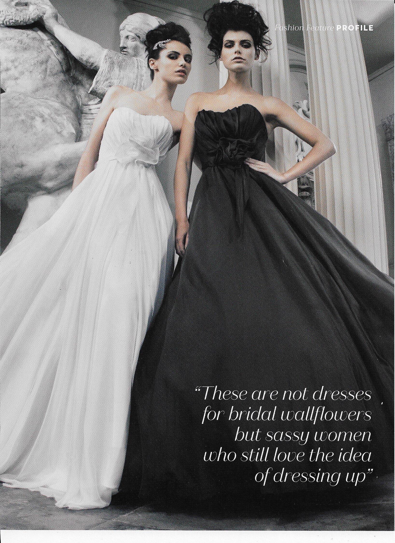 Designer Profile - Absolutely Weddings Magazine A/W 2019