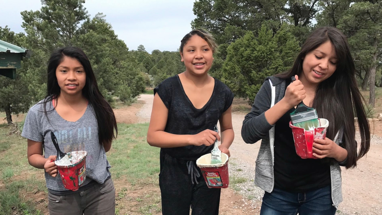 GALLUP, NEW MEXICO - Students from FBC Columbia travel to New Mexico every summer to serve a tribe of Native Americans. They teach them music and sports, and spend time with them sharing the love of Christ.