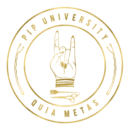PIP University crest and seal