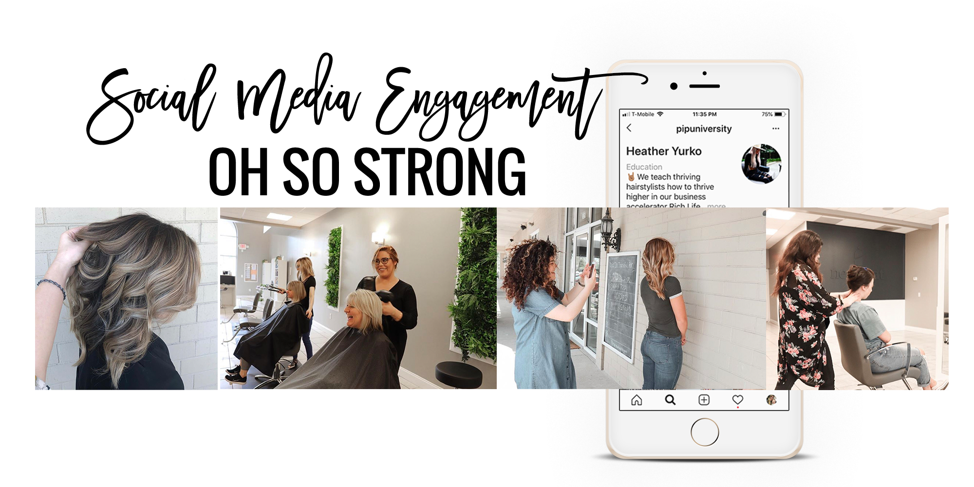 Learn PIP University's tested methods to increase social media engagement as a hairstylist.