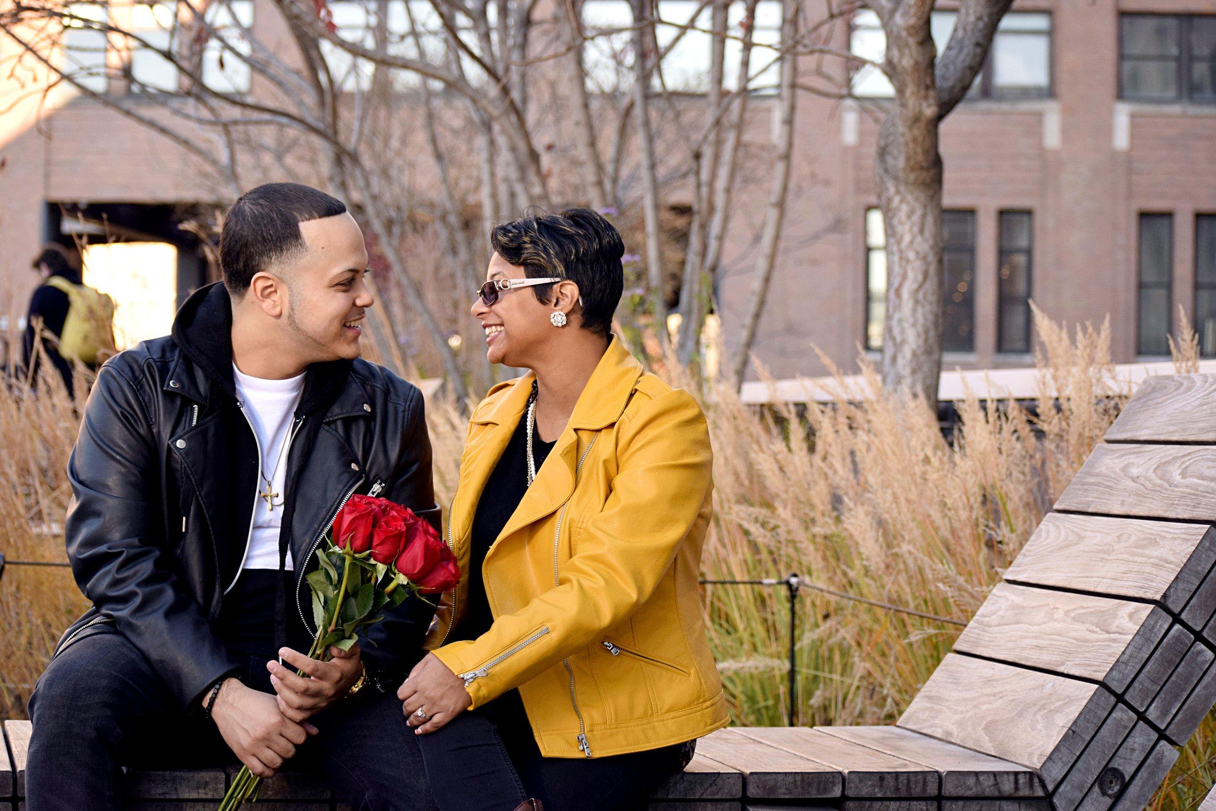 Brandon+Jannette at The Highline