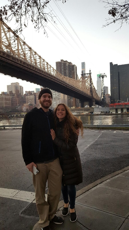Phone upload: Visiting Roosevelt Island for the first time together! Merry Christmas & Happy New Year!