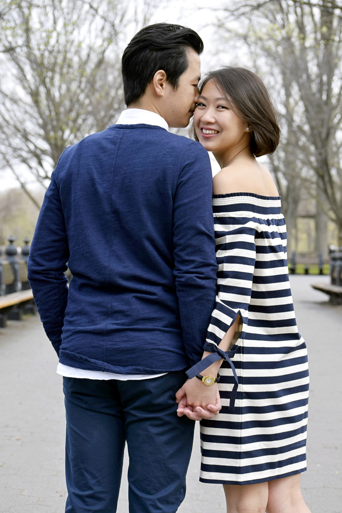 Literary Walk Engagement Photography NYC