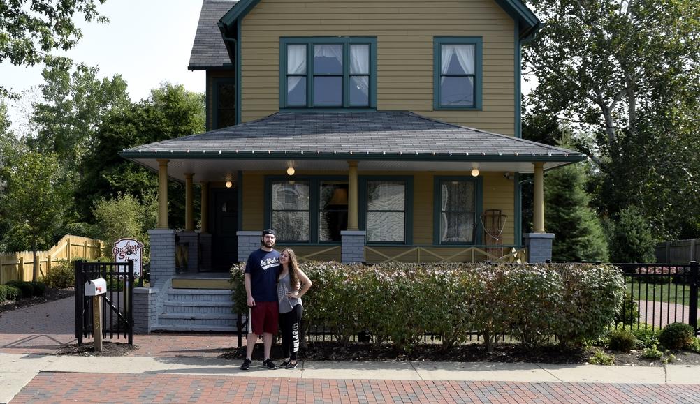 A Christmas Story House!