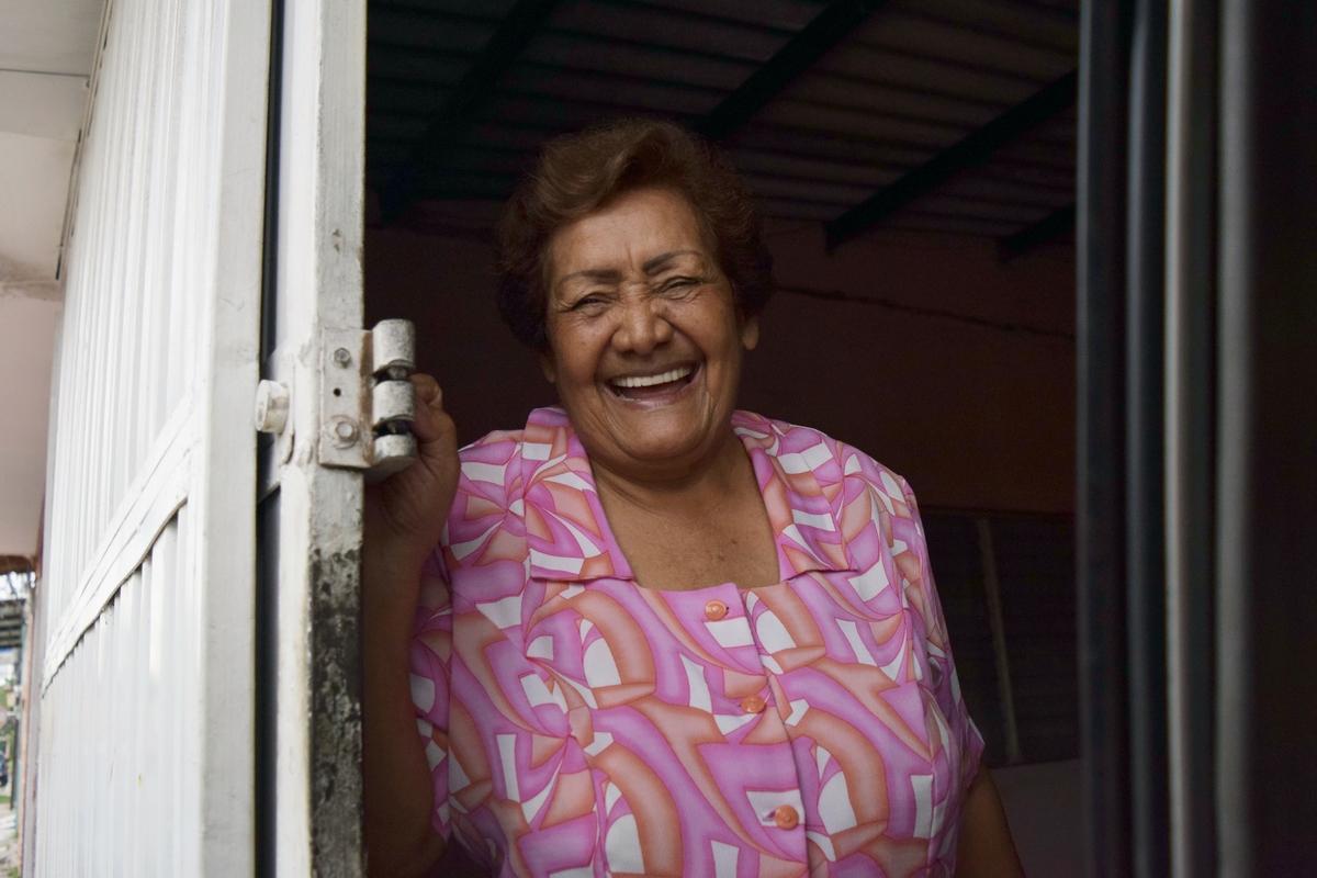 People portrait, Honduras, grandmother (Stephanie's grandmother)