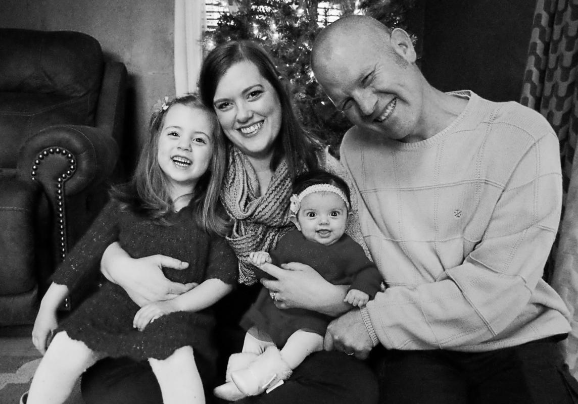 Christmas Family Portrait photographer, Connecticut