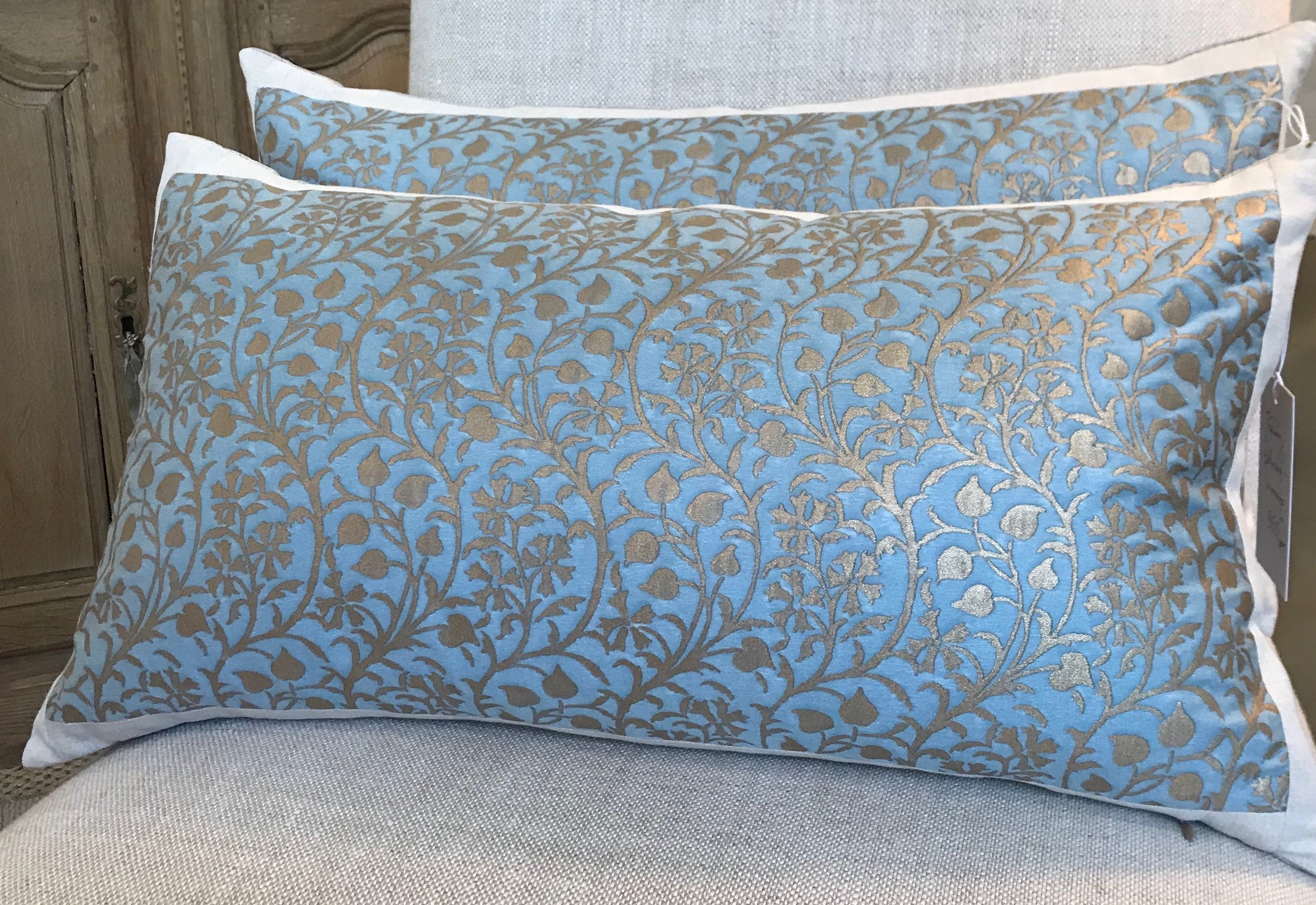 Pair of Fortuny Pillows 950.00