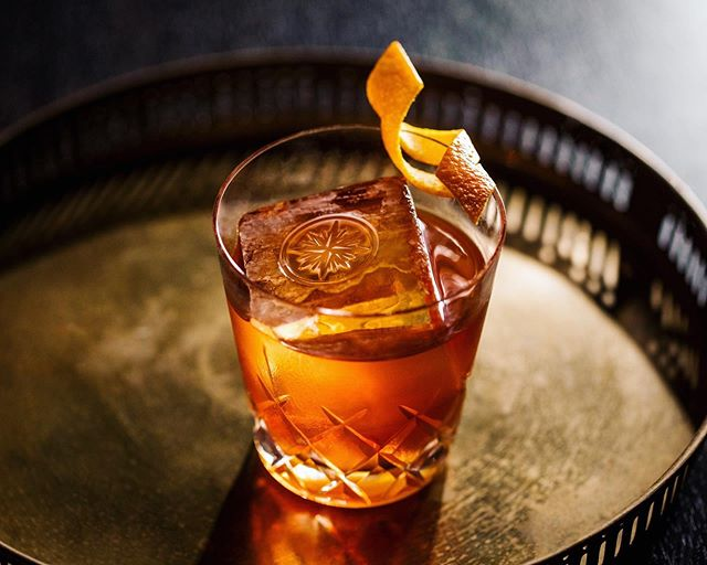 "On this day 213 years ago - May 13th, 1806 - the word ""cocktail"" was first defined in the Balance and Columbia Repository of Hudson, NY. Said to be ""a stimulating liquor, composed of spirits of any kind, sugar, water, and bitters,"" today it's known as the venerable Old Fashioned, and it's arguably the most popular (and definitely one of the most satisfying) spiritous mixtures in existence. We thought it only be fitting to highlight our version of this paragon mixed beverage, The Roosevelt Room Old Fashioned, which utilizes a base of our own barrel of Buffalo Trace Bourbon, then seasons it with a captivating blend of bitters. It's quickly become our top-selling drink for good reason; we're sure you'll agree when you enjoy one during your next visit. Cheers to you! . . RR Buffalo Trace Single Barrel Bourbon, Demerara syrup, Angostura bitters, Cocktail Kingdom Wormwood bitters, Orange peel . . 📷 by @ericmedsker . . @buffalotrace @buffalotracedistillery @cocktailkingdom @angosturahouse @angosturaaromaticbitters  #TheRooseveltRoom #CheersToYou #oldfashioned #spirits #bitters #spiritsugarwaterbitters #spiritsugarwaterandbitters #bourbon #liquordotcom #drinkpunch #imbibegram #liqpic #cocktail #cocktails #coctkailbar #cocktailbars #craftcocktail #craftcocktails #drinkatx #drinkaustin #austinbars #austindrinks #drinkthemenu #newmenu #newcocktails #newdrinks #housecreations"