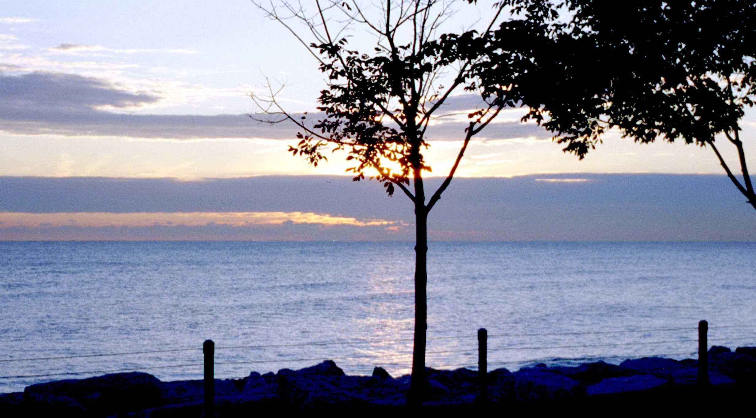 CR Lake Michigan near Hyde Park