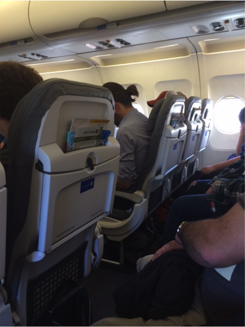 New slimline seats on United's A320