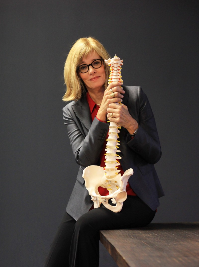 """Investigative reporter Cathryn Jakobson Ramin, author of """"  Crooked: Outwitting the Back Pain Industry and Getting on the Road to Recovery  ."""" Photo by Jonathan Manierre."""
