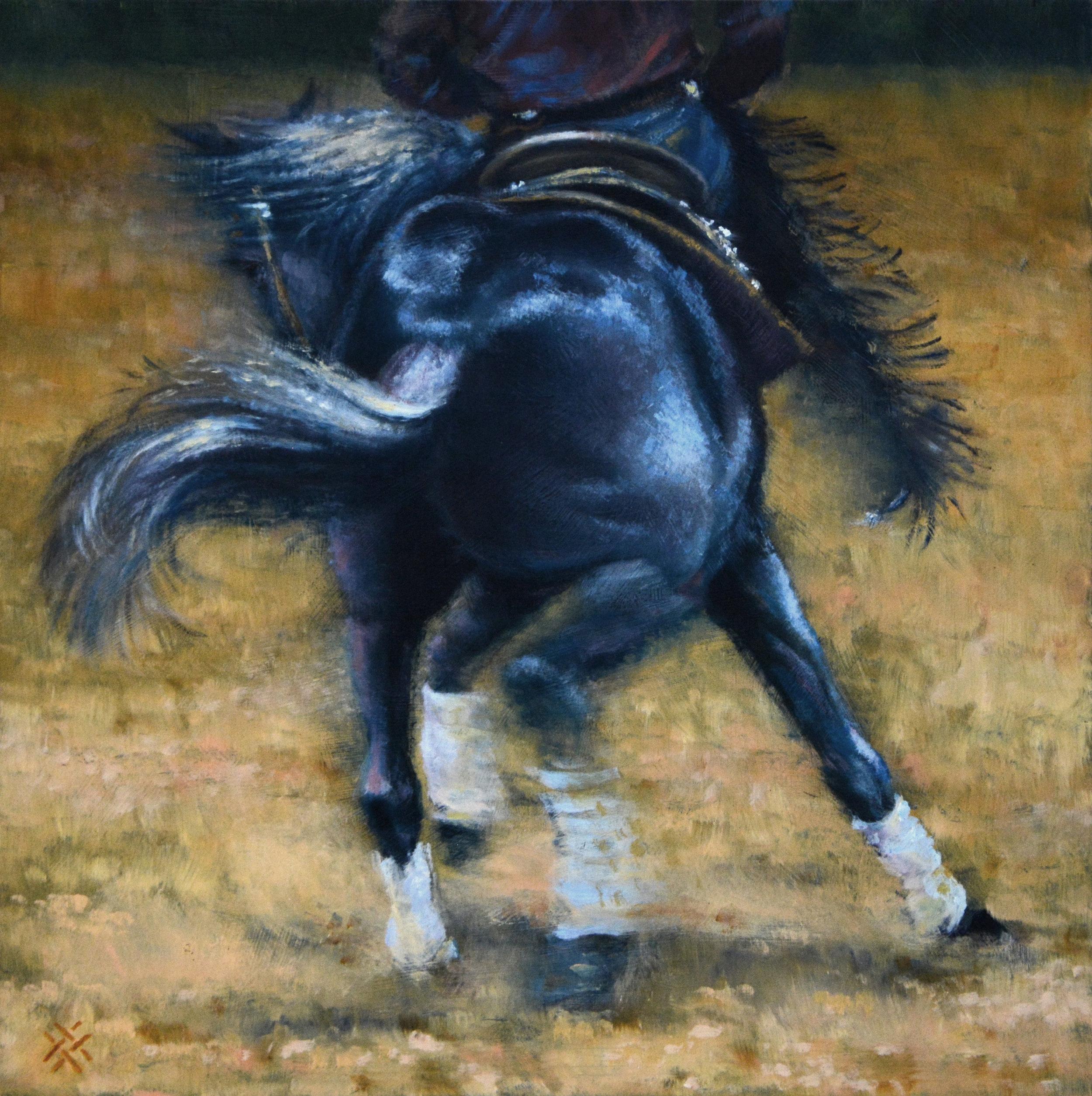 DANNY'S BLUE HORSE