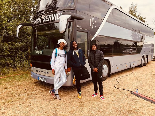 3rd Generation Morgan on the Road in Europe w/ the family! @eshtemohmorgan & @brooklynmadebeatz We Ready to bring you positive vibrations...Come join us 🦁🙏🏾🎶 @morganheritage  Europe Tour Dates 7/5 - Carcavelos,Portugal - Musa Festival ‪7/14 - Bree,Belgium - Afrolatino Festival ‬ ‪7/19 - Palermo,Italy - Parma Music Park‬ ‪7/20 - Marina Palmense,Italy - Bababoom Festival ‬ ‪7/21 - Pfäffikon,Switzerland - Reeds Festival ‬ ‪7/26 - Bagnols,France - Bagnols Reggae Festival ‬ ‪7/28 - Rotterdam,Netherlands - Reggae Rotterdam‬ 8/2 - Wiesen,Austria - One Love Festival 8/3 - Bersenbrück,Germany - Reggae Jam Festival ‪8/11 - St.Malo,France - No Logo Festival ‬ ‪8/15 - Plan Les Ouates,Switzerland - Plein Les Watts‬ ‪8/17 - Berchidda,Italy - Saradnia Reggae Festival‬ ‪8/20 - Benicássim,Spain - Rototom Festival‬