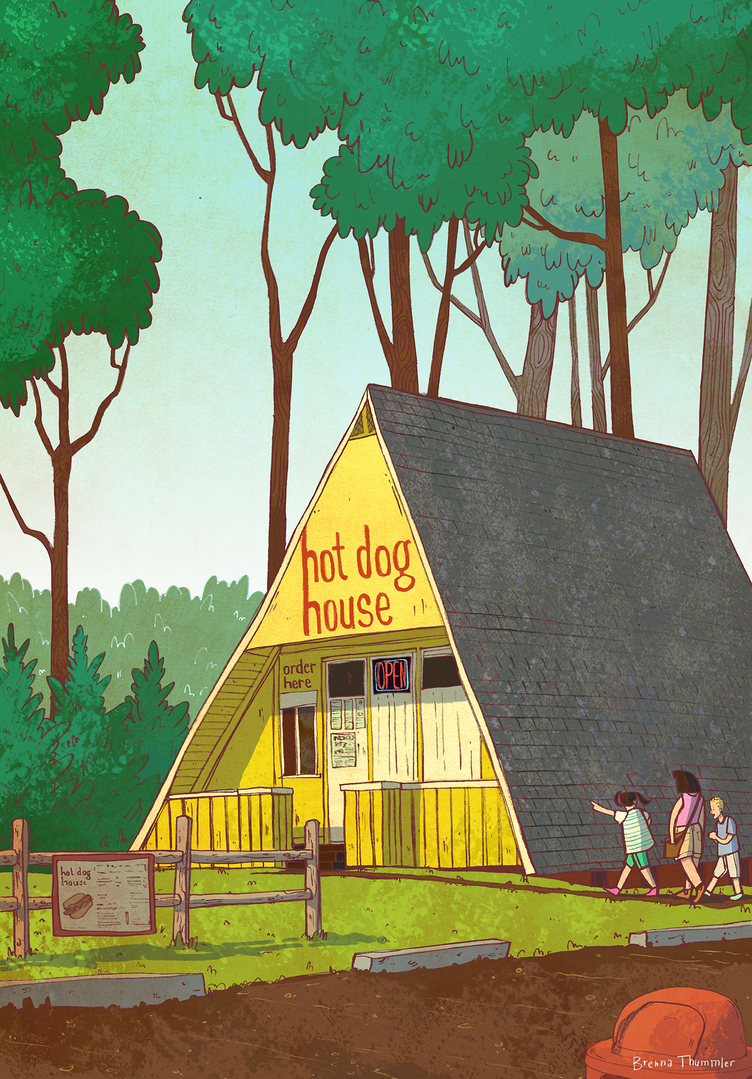 The Hotdog House