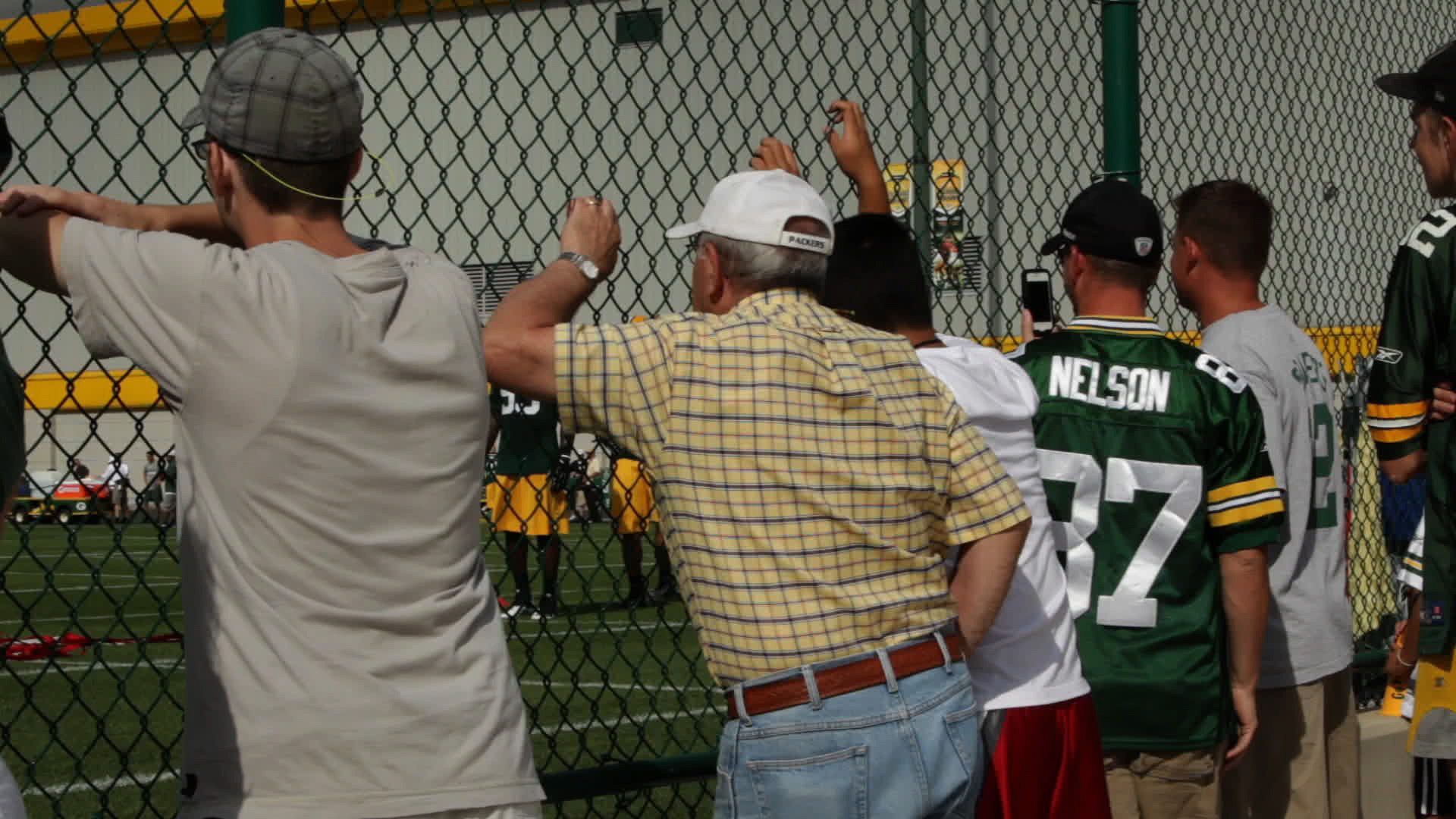 Packers Training Camp (July 2012)
