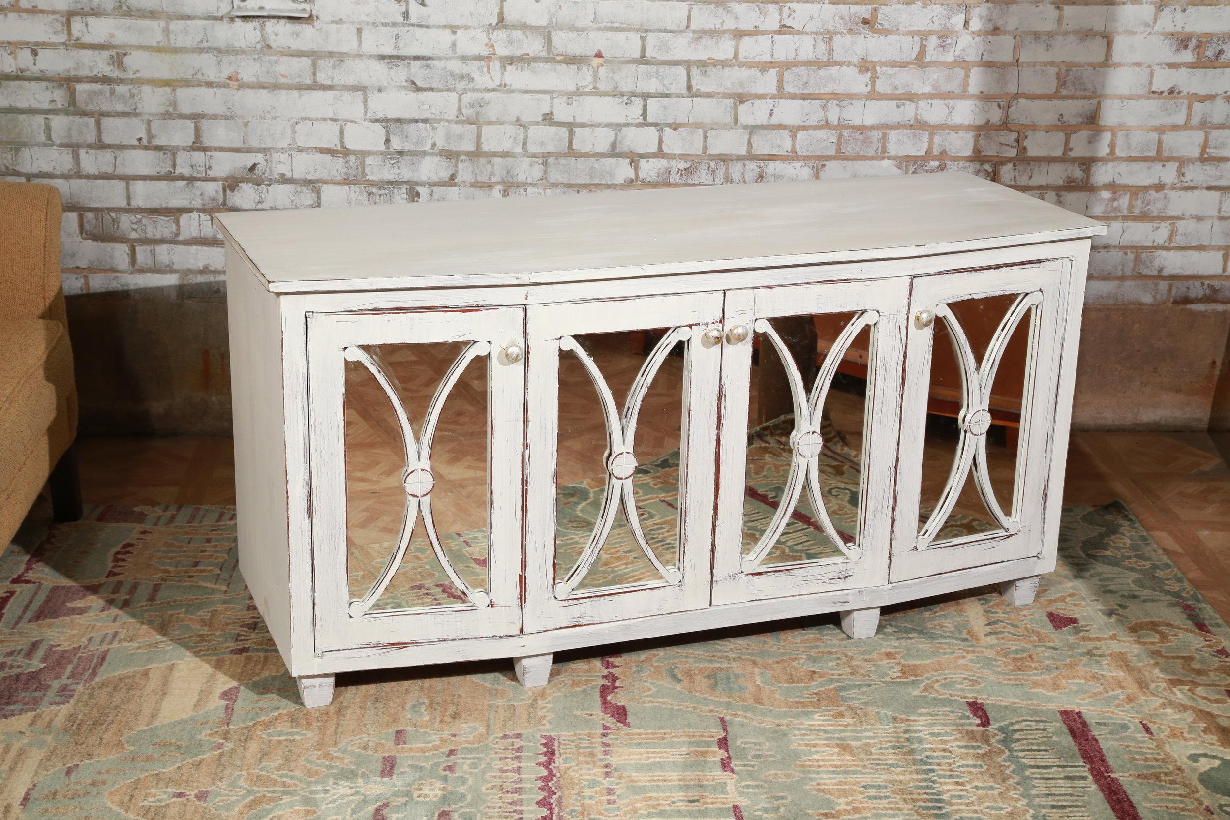 Mirrored Buffet - White - $189
