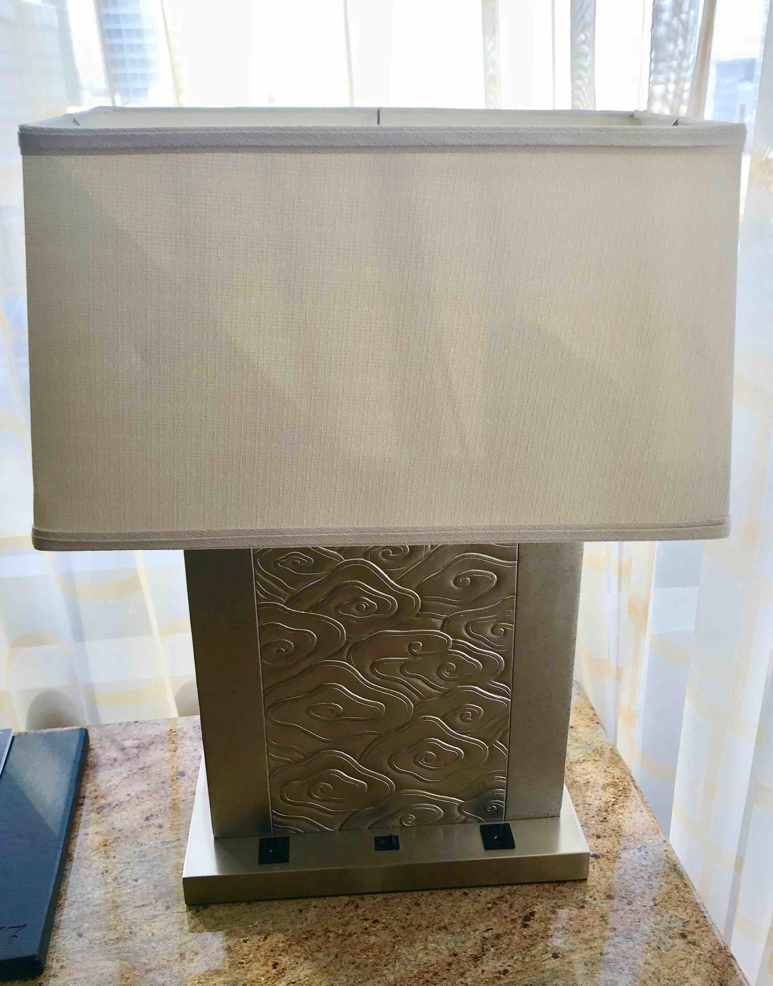 JW Square Lamp
