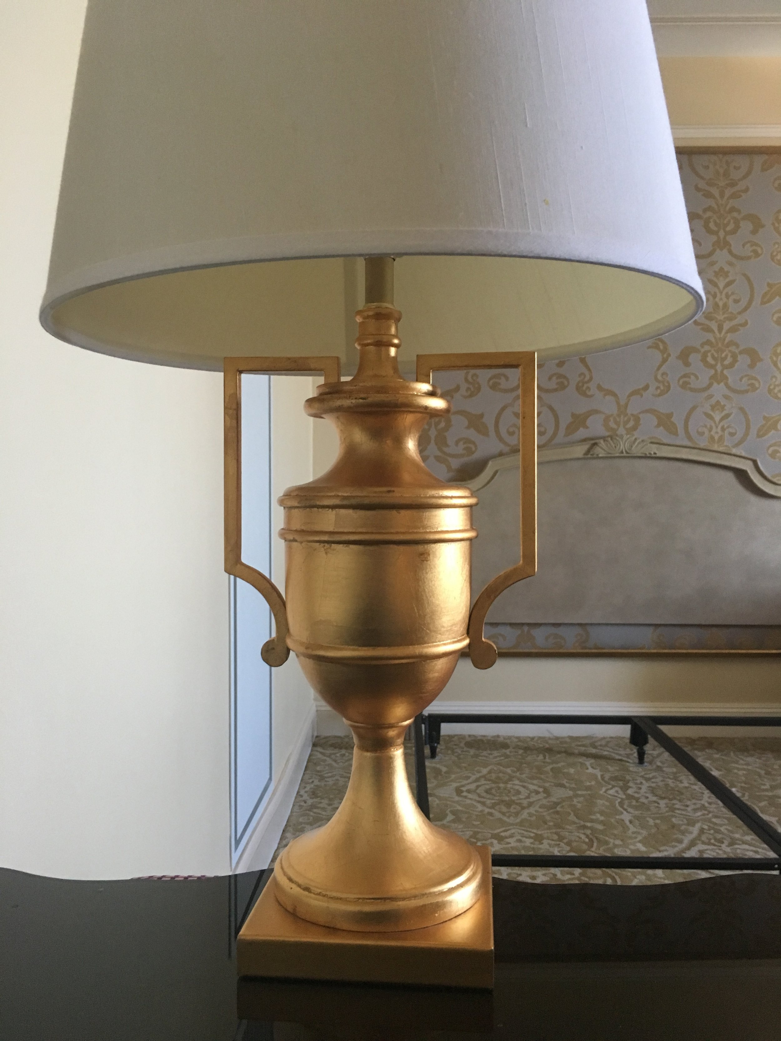 Gold Trophy Table Lamp