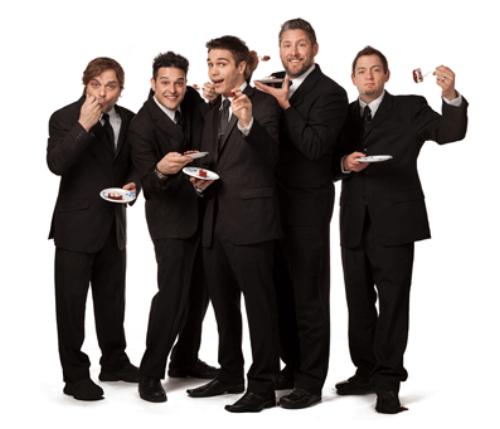 Members: Jim - Drums; Jon - Guitar, Vocals; Steve - Vocals, Keys; Tom - Bass; Greg - Keys, Guitar, Vocals