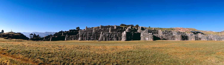 Cuzco. Sacsayhuaman. 1536. 200 x 52 cm.