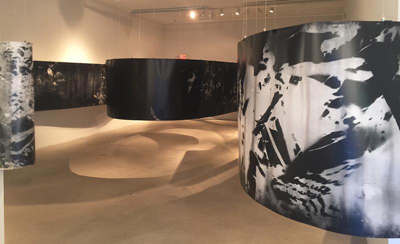 Instalación en Dina Mitrani Gallery, Miami, diciembre 2015 - enero 2016.  Installation DIna Mitrani Gallery, Miami, Dec 2015 - Jan 2016.