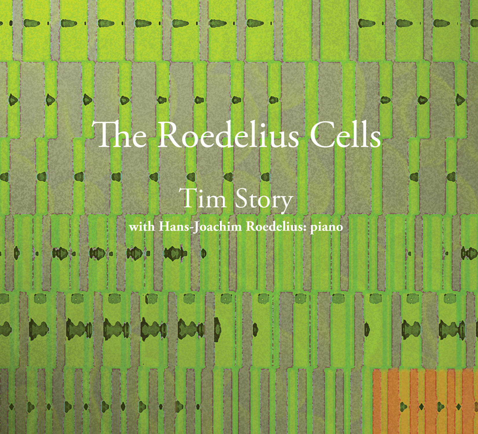 Cover of  The Roedelius Cells  limited edition CD.