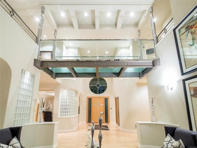 Modern style custom home