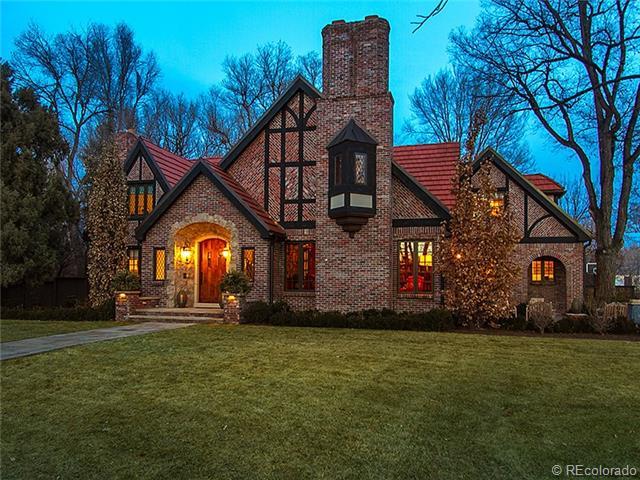 Custom brick home in Colorado