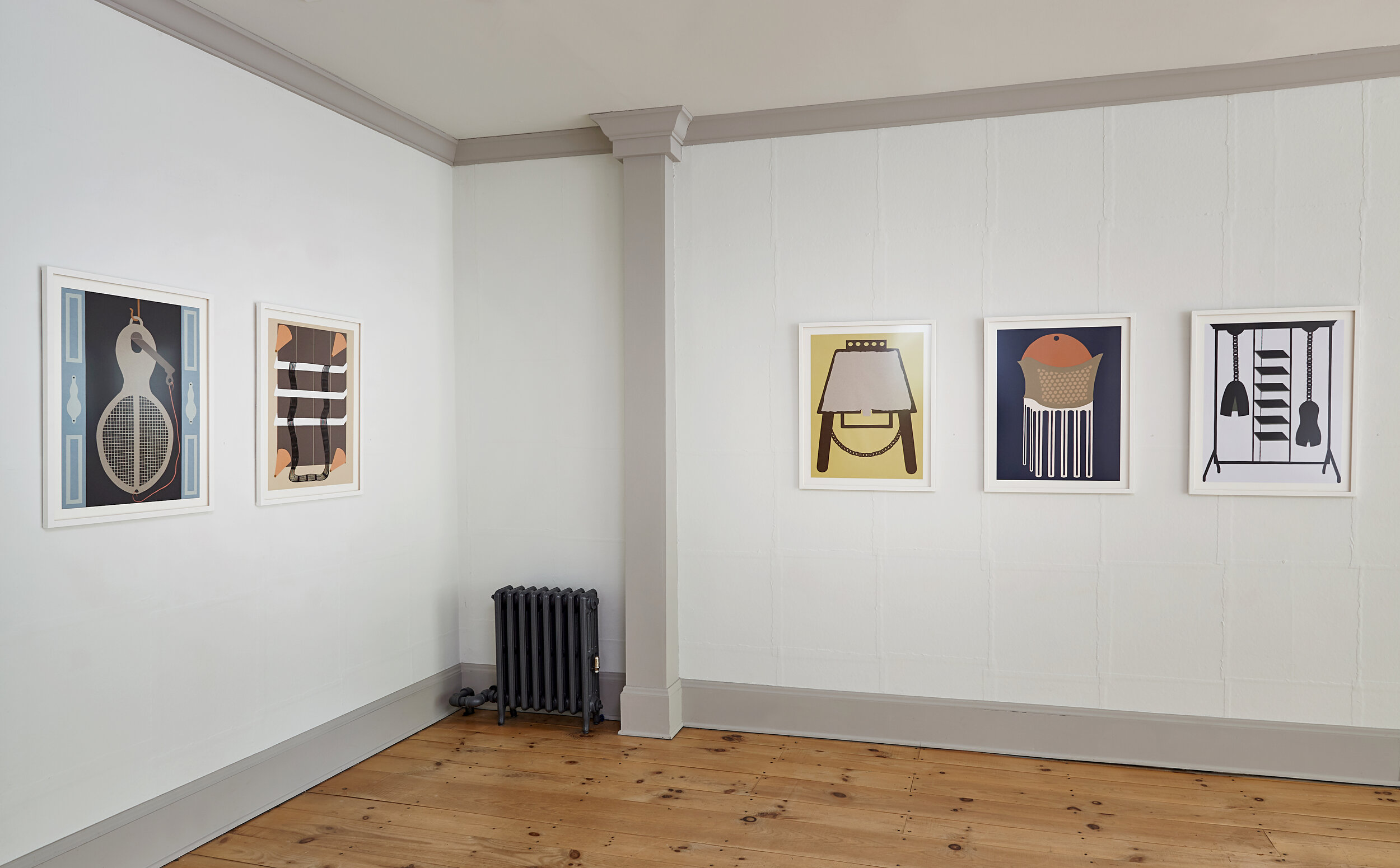 "Installation view, ""Utility Suite"""