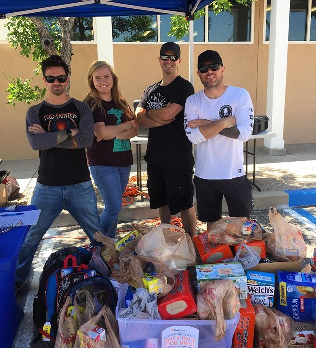 Huge shoutout to everyone who donated food for Feed NM Kids. Don't forget you can drop food at any First Financial from now until August 15th!