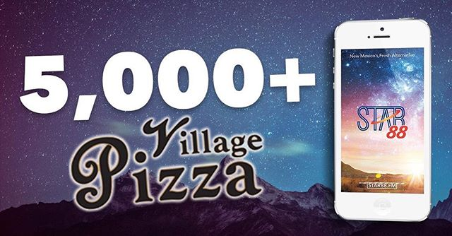 Today is the day! 12 noon to 2 PM, at Village Pizza on the Westside, 3200 La Orilla Rd NW.  Show up, show Heidi your installed app, and we'll spot you for a free lunch and drink. One meal per app installed, please! Big thanks to our friends at Village Pizza for making this happen!
