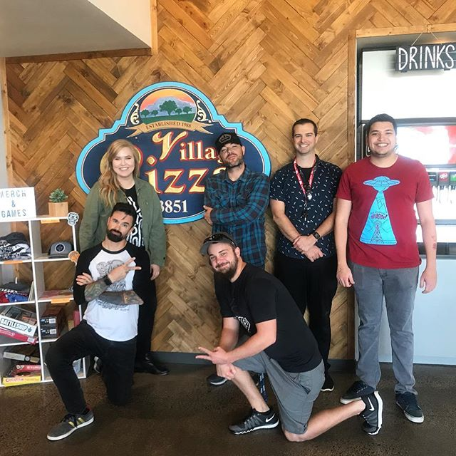 Thank you so much @villagepizza for an awesome afternoon! Thank you for coming by and celebrating with us! #villagepizza #pizzaparty