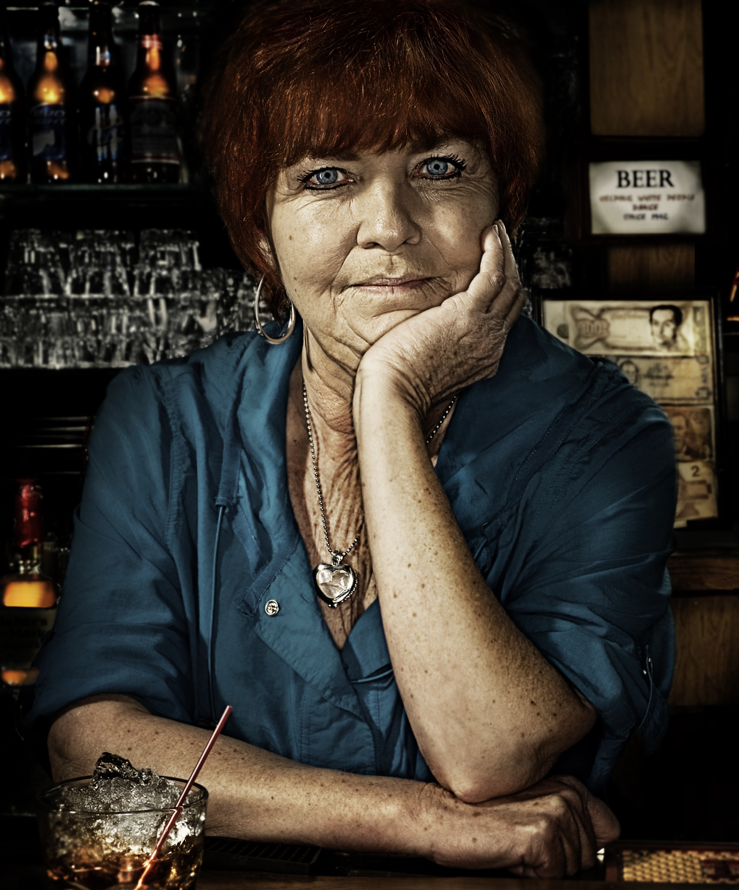 Barmaid of 'The Secret Keepers' series