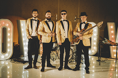 24K Soul and Motown Wedding Band Wales